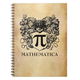 Pi Warrior Spiral Note Book
