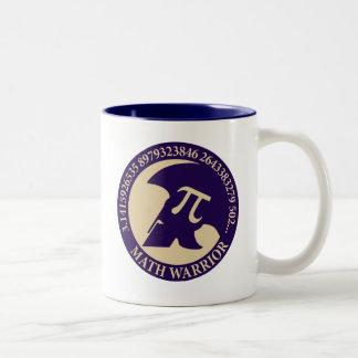 Pi Warrior Two-Tone Coffee Mug