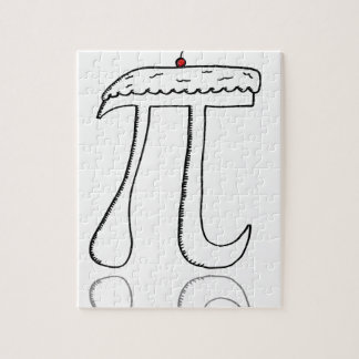 Pi with a cherry on top jigsaw puzzle