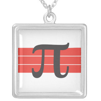 Pi with Cherries on top Necklace