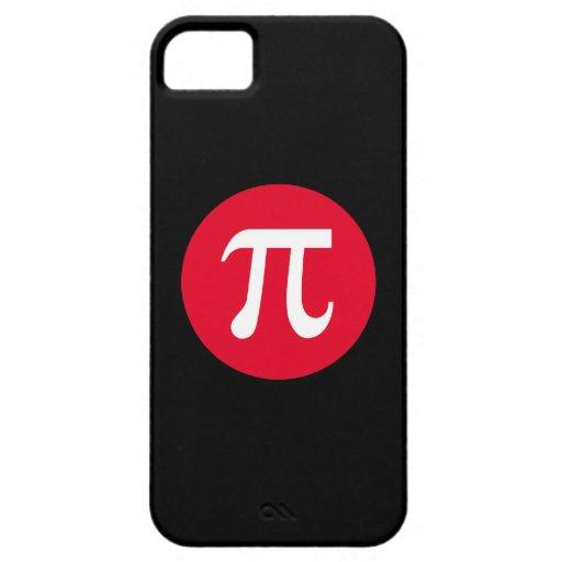 Pi y círculo iPhone 5 Case-Mate carcasa