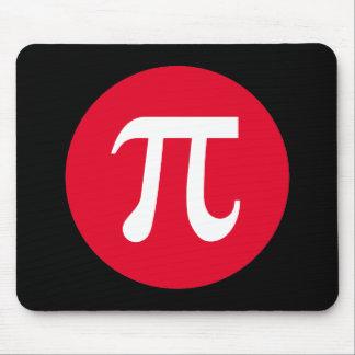 Pi y círculo mousepad