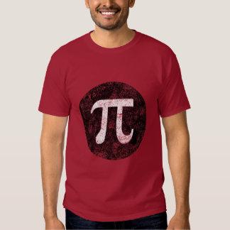 Pi y círculo playeras