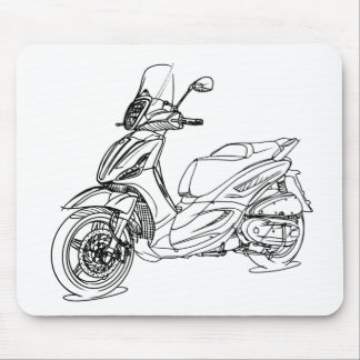 Pia BeverlySport Touring 350 2012 Mouse Pad
