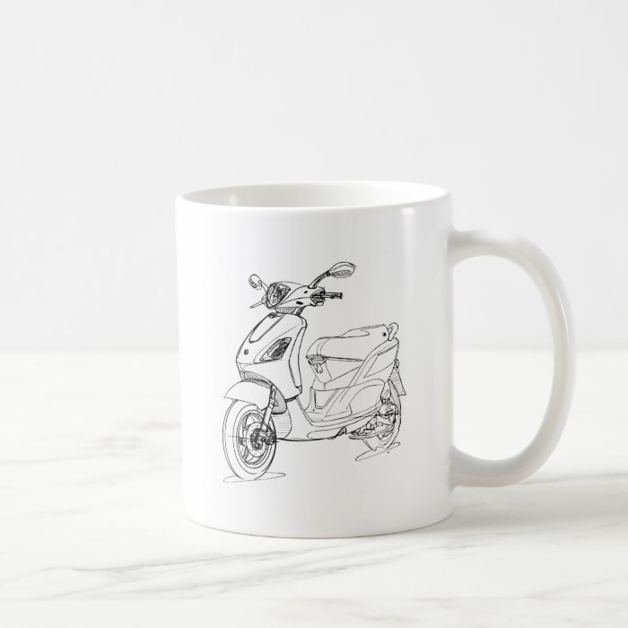 Pia Fly150 2010 Coffee Mug