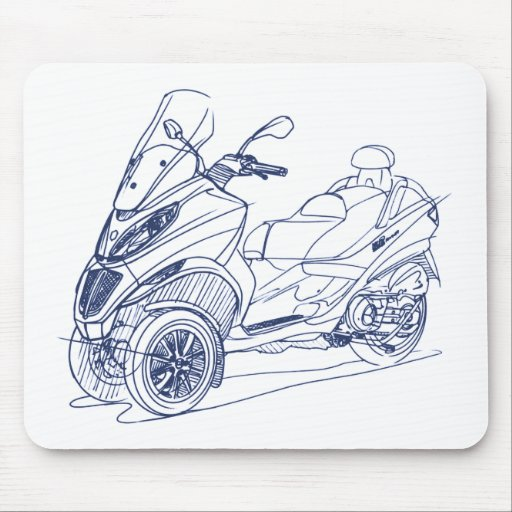 Pia MP3-Touring 2012 Mouse Pad