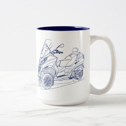 Pia MP3-Touring 2012 Two-Tone Coffee Mug