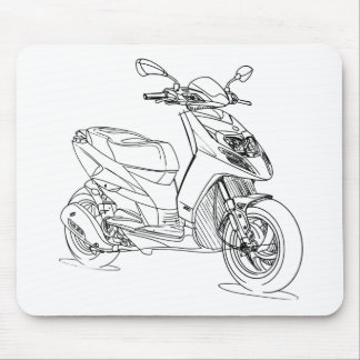 Pia Typhon125 2014 Mouse Pad