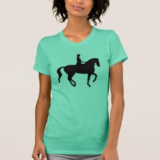Piaffe Dressage Horse and Rider T-Shirt