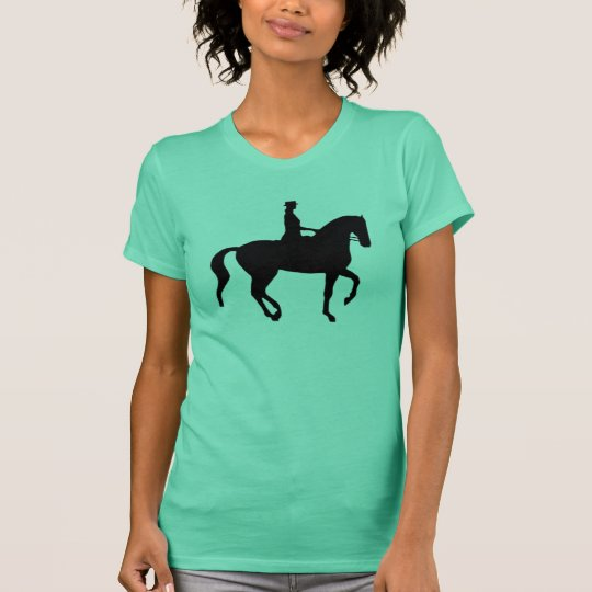 Piaffe Dressage Horse and Rider T-Shirt