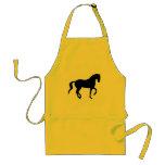 Piaffe Horse (black) Aprons
