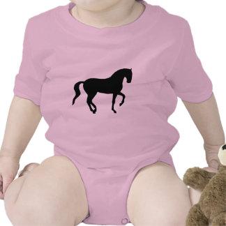 Piaffe Horse (black) Romper