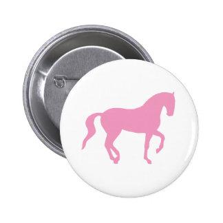 Piaffe Horse (pink) Pin