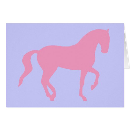 Piaffe Horse (pink) Cards