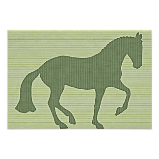 PIAFFE Stripes 19x13 Print