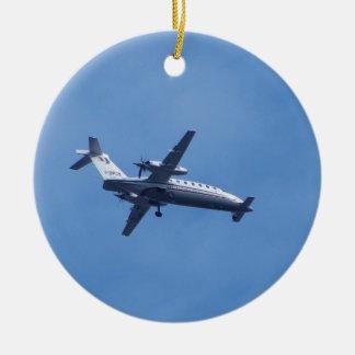 Piaggio P180 Aircraft Ceramic Ornament