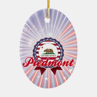 Piamonte, CA Ornamento De Navidad