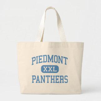 Piamonte - panteras - alto - Monroe Carolina del N Bolsas De Mano