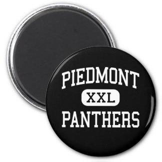Piamonte - panteras - alto - Monroe Carolina del N Imán De Nevera