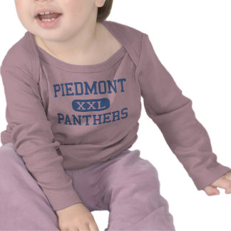 Piamonte - panteras - alto - Monroe Carolina del N Camisetas