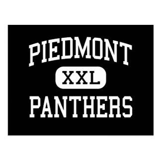 Piamonte - panteras - alto - Monroe Carolina del N Postal