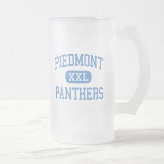 Piamonte - panteras - alto - Monroe Carolina del N Taza De Café
