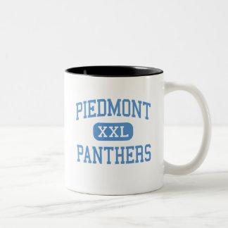 Piamonte - panteras - alto - Monroe Carolina del N Tazas De Café