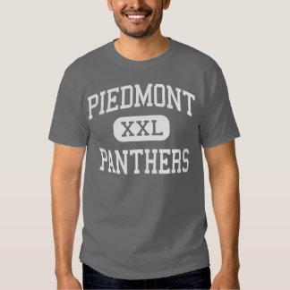 Piamonte - panteras - alto - Monroe Carolina del Playera