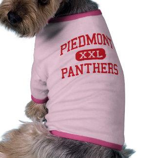 Piamonte - panteras - centro - Monroe Camisetas De Perro