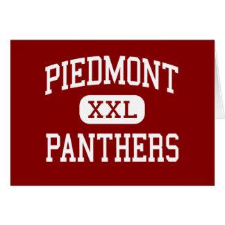 Piamonte - panteras - centro - Monroe Tarjeta