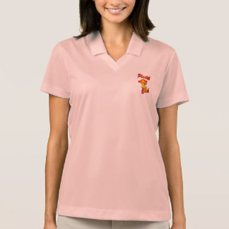Pianist Chick #5 Polo Shirts