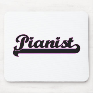 Pianist Classic Job Design Mouse Pad
