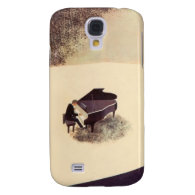 Pianist Concert Hall Piano Player Music Instrument Samsung Galaxy S4 Cover