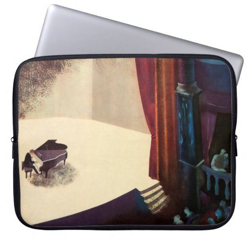 Pianist Concert Hall Piano Player Music Instrument Computer Sleeve