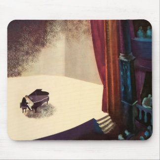 Pianist Concert Hall Piano Player Music Instrument Mouse Pad