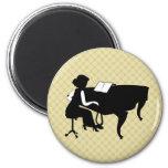 Pianist Concert Recital Piano Magnet Gift
