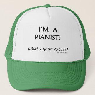 Pianist Excuse Trucker Hat