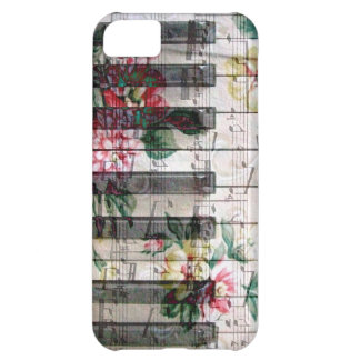 pianist keyboard girly vintage music cover for iPhone 5C