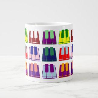 Pianist Keyboard Piano Keys Pop Art Coffee Mug