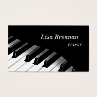 Pianist , Musician , Classics Player Business Card