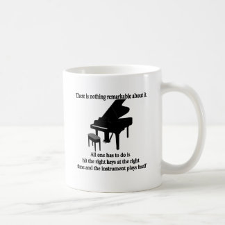 Pianist Musician T-shirts and Gifts Classic White Coffee Mug