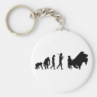 Pianist Piano Orchestra Composer Mozart gear Keychain