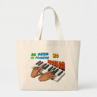 Pianista Bolsa De Tela Grande