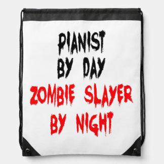 Pianista del asesino del zombi mochila
