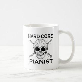 Pianista del núcleo duro taza