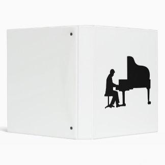"Pianista del piano de cola carpeta 1"""
