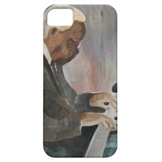 Pianiste Jazz Original Oils Artwork Funda Para iPhone 5 Barely There