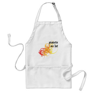 Pianists Are Hot Adult Apron