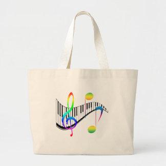 Piano 02 large tote bag