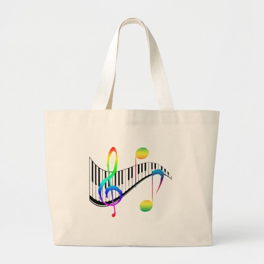 Piano 02 large tote bag